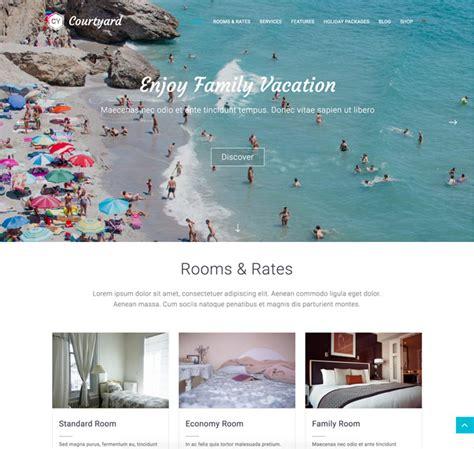 free guesthouse wordpress themes 10 best free hotel wordpress themes 2017 designmaz
