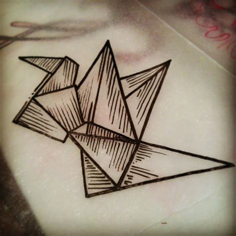 Crane Origami Meaning - 1000 images about tattoos and origami on