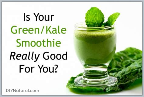 Kale Detox Shakes by Kale Smoothie Are Greens Really Healthy For You