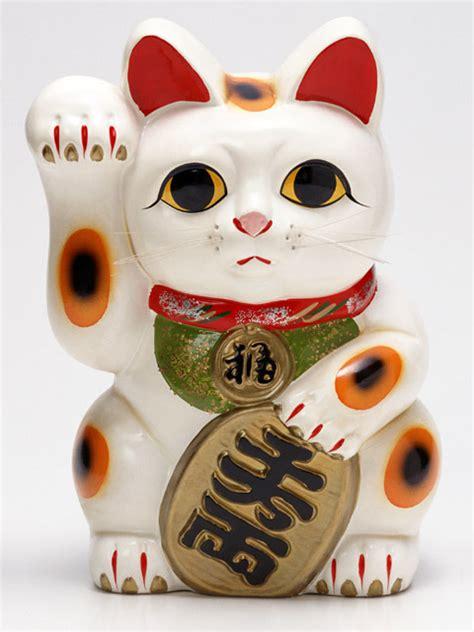 Maneki Neko Fortune Cat japanese lucky cat on