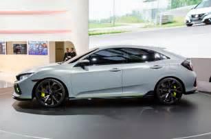 Honda Civic Si Hatchback Honda Civic Hatchback Prototype Shows Promise In Geneva