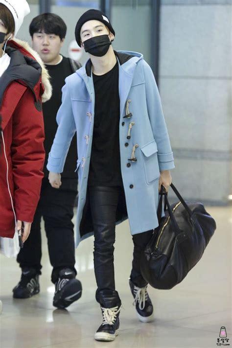 Fashion Min Min 150220 bts suga min yoongi incheon airport bts bangtan bangtanboys fashion style