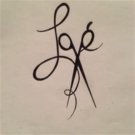 Scissor On Passions Today Tomorrow by 1000 Ideas About Hairstylist Tattoos On