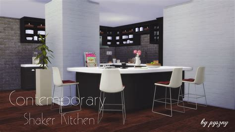 Counter High Dining Room Sets Contemporary Shaker Kitchen Updated