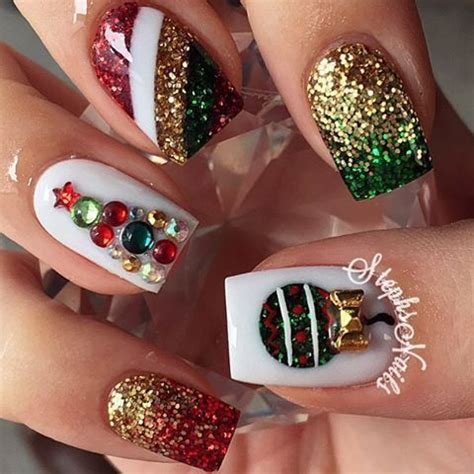 pin by allison rodriguez on nails pinterest christmas