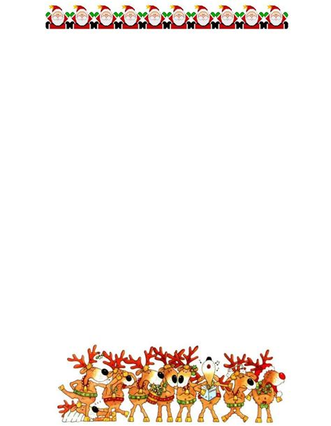 free santa letterhead template best 25 letters ideas on brush