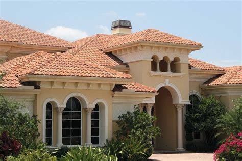 mediterranean style spanish  roof tile dream house