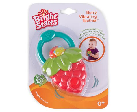 Sale Bright Starts Teether Friends bright starts berry vibrating teether green great daily deals at australia s favourite