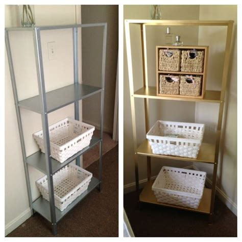hack and paint ikea hacks hyllis shelving unit looks so pretty in my