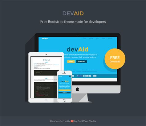 bootstrap themes maker devaid free bootstrap theme for developers responsive