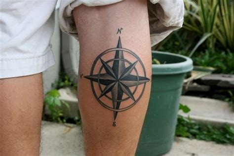compass tattoo calf compass tattoo designs with meaning nautical compass