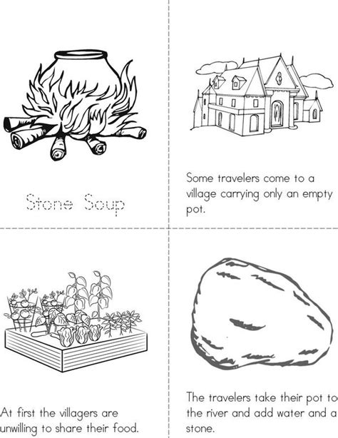 stone soup book twisty noodle