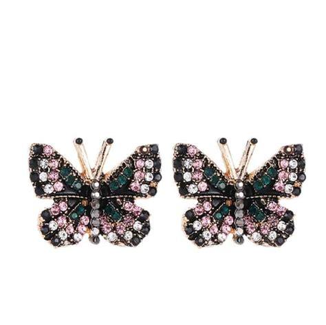 Rhinestone Butterfly Earrings fashion rhinestone butterfly earrings fromocean