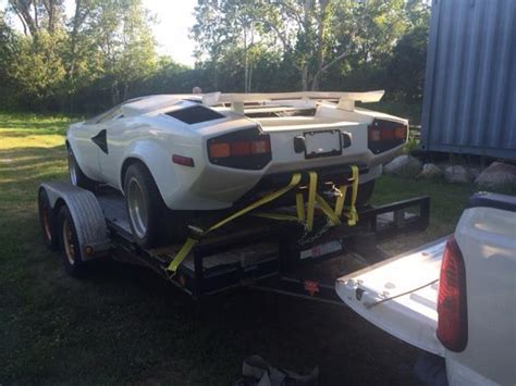 Lamborghini Car Kits For Sale 1978 Lamborghini Countach Kit Car For Sale