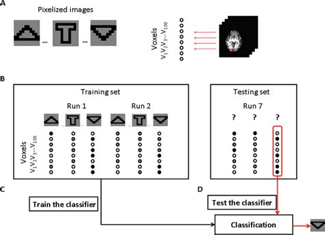 pattern classification fmri decoding brain responses to pixelized images in the