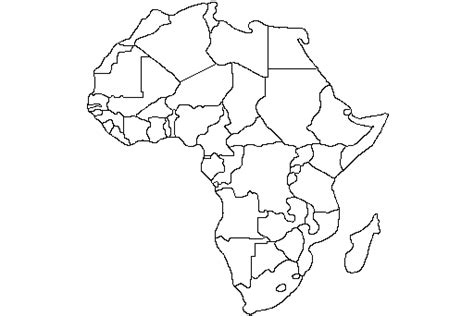 africa map black and white lesson plan africa map