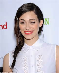 In bloom emmy rossum springs into action in floral skirt for saving