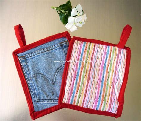 pattern pot holder jean pocket pot holder allfreesewing com