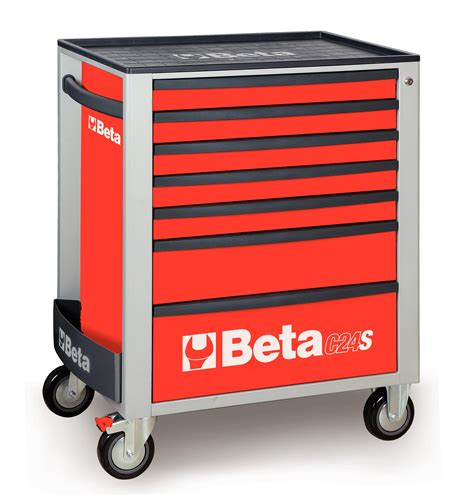 mobile tool storage cabinets beta tools c24s7 r mobile roller cabinet tool box 7