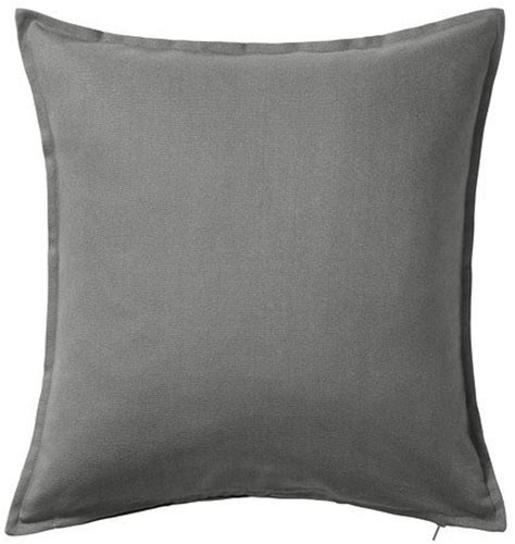 ikea throw pillows ikea gurli solid gray throw pillow cover cushion sleeve