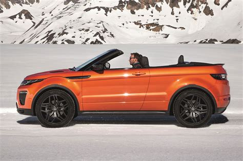 land rover convertible 4 roofless streak range rover evoque finally goes
