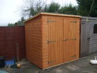 6x4 pent garden shed garden pleasure