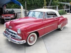 1952 Chevrolet For Sale 1952 Chevrolet Master Deluxe 1952 Chevrolet Convertible