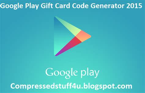 Google Play Store Gift Card Code Generator - google play gift card code generator 2015 latest release v2 1 free google play
