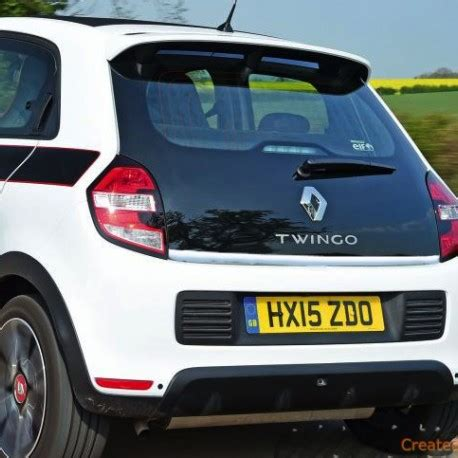 Trunk Lid Grand New Jazz 2014 Chrome renault twingo iii 2014 chrome trim lid trunk rear cover tailgate tuning 3m chromeauto