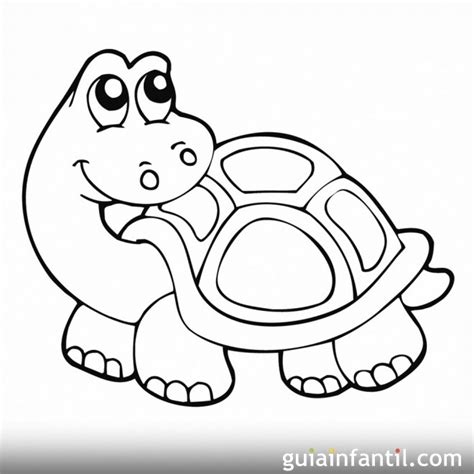 imagenes de tortugas faciles para dibujar tortuga mirando hacia atr 225 s dibujo para pintar dibujos