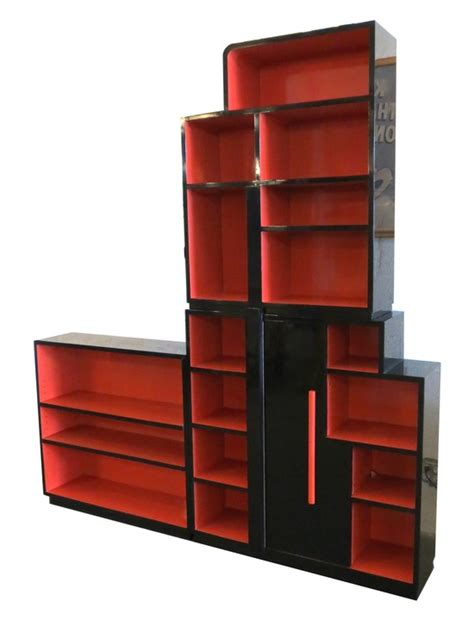 American Art Deco Skyscraper Bookcase by Modernage, New