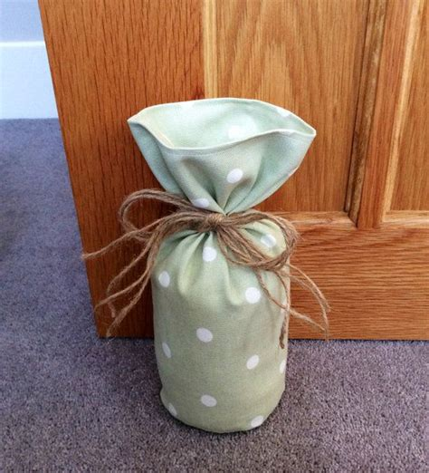 Handmade Door Stop - pretty handmade door stop in clarke and clarke