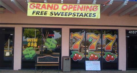 Sweepstakes Cafes - california latest state to crack down on sweepstakes cafes