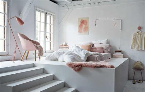 Charmant Idee Deco Chambre Romantique #3: Chambre-blanche-et-rose-via-VTwonen