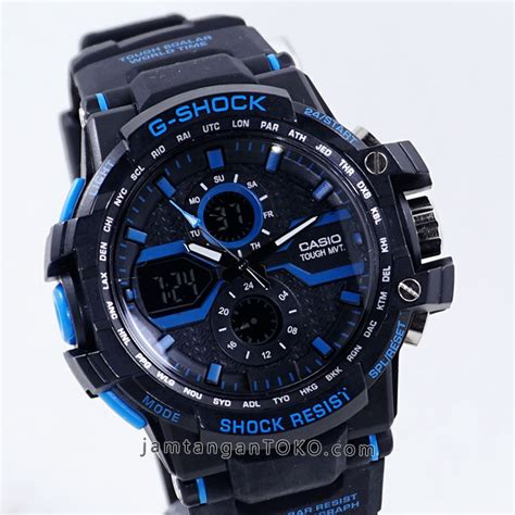G Shock Gwa 1000 Black Blue harga sarap jam tangan g shock x factor kw gwa1000 black blue