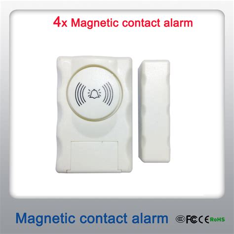 simple mini burglar alarm system independent magnetic