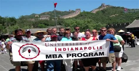 Uindy One Year Mba by Mba International Study Travel Of Indianapolis