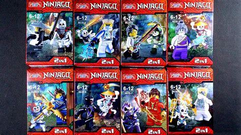 Lego Minifigure Two Bootleg lego ninjago minifigures bootleg knock 9369 1 8