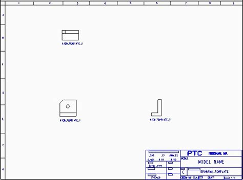 creating new drawings using drawing templates cad cam