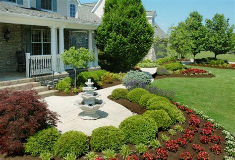 front yard features wonderful front yard landscape tinkerturf