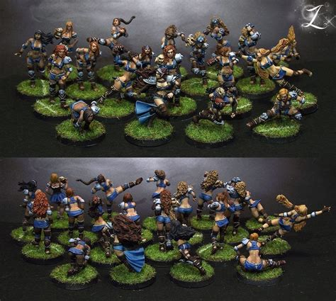 best blood bowl team 281 best miniatures blood bowl images on