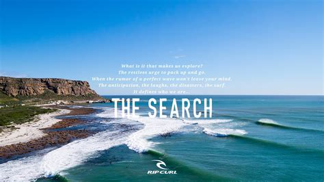 Ripcurl Now Searching official teaser the search by rip curl