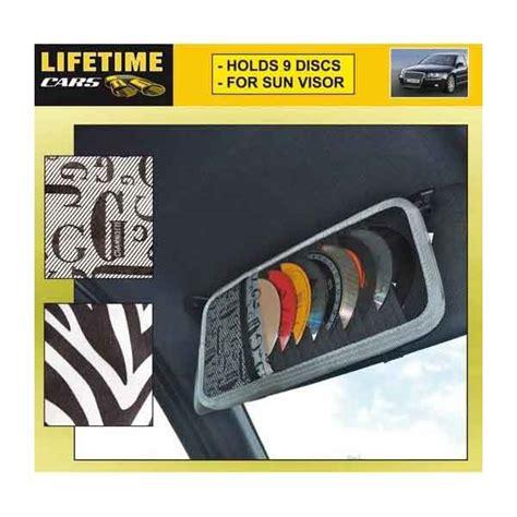 porta cd per auto custodia porta cd dvd auto per visiera parasole 9 posti