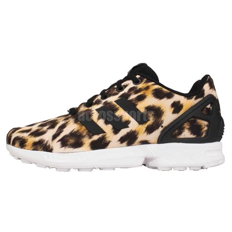 adidas leopard sneakers adidas originals zx flux k leopard print youth