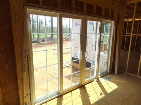 How To Install Sliding Patio Door Exterior Sliding Glass Doors Lowes
