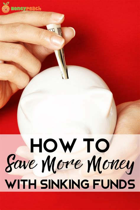 how to tell if your house is sinking how to save more money with sinking funds money peach