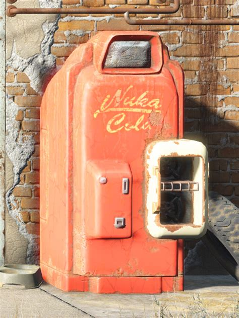 Cabinet Above Fridge Nuka Cola Machine