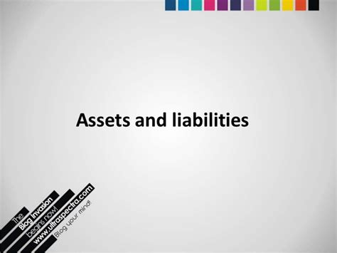 Asset And Liability Search Fixed Assets And Liabilities