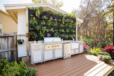 durie vertical gardens choicedek composite decking in outback nation with