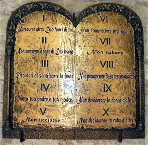 tavola dei dieci comandamenti i dieci comandamenti padre enrico redolfi